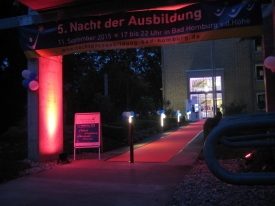 Nacht der Ausbildung Bad Homburg 2015